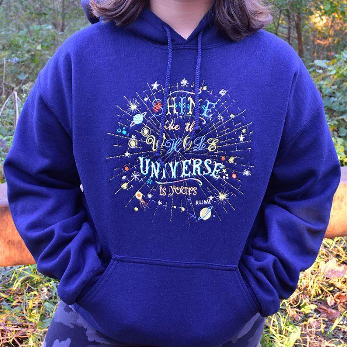 Universe Inspired Hoodie